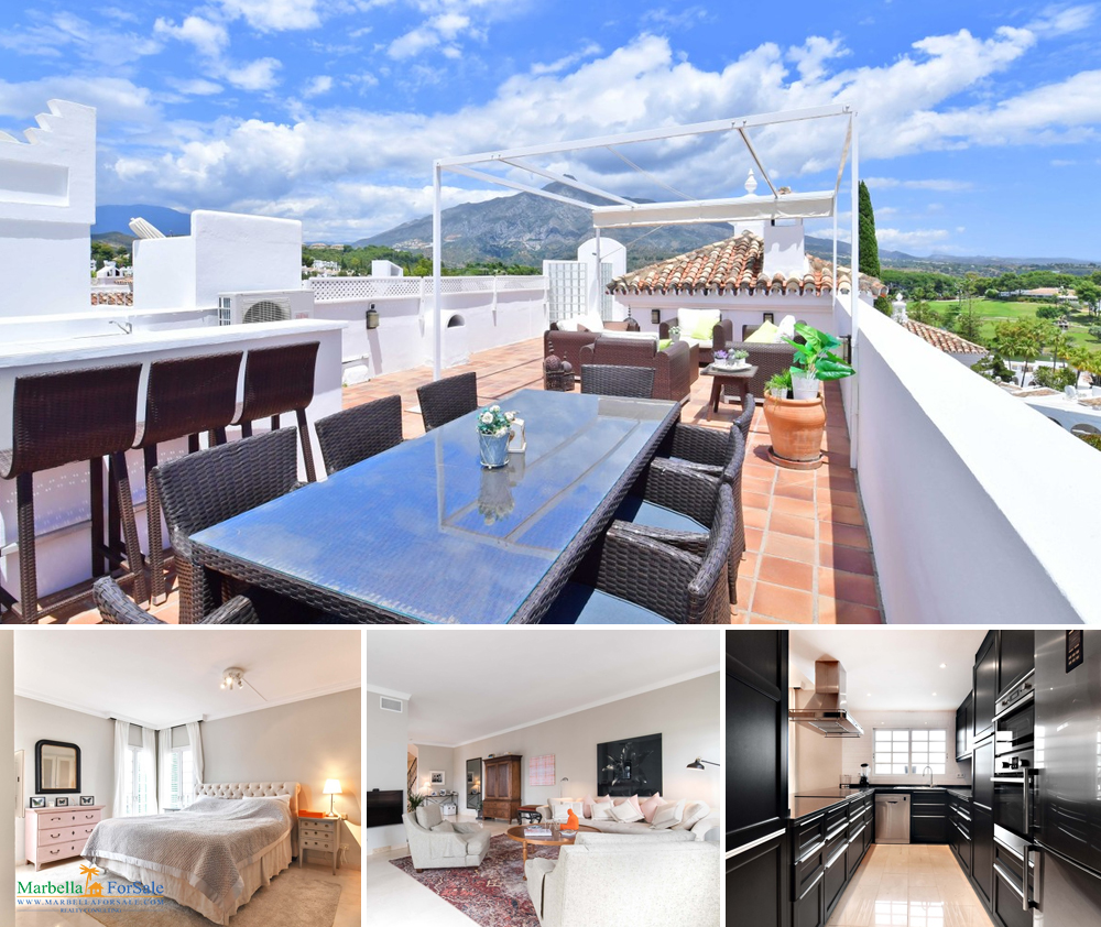 Excepotinal Penthouse For Sale - Nueva Andalucía