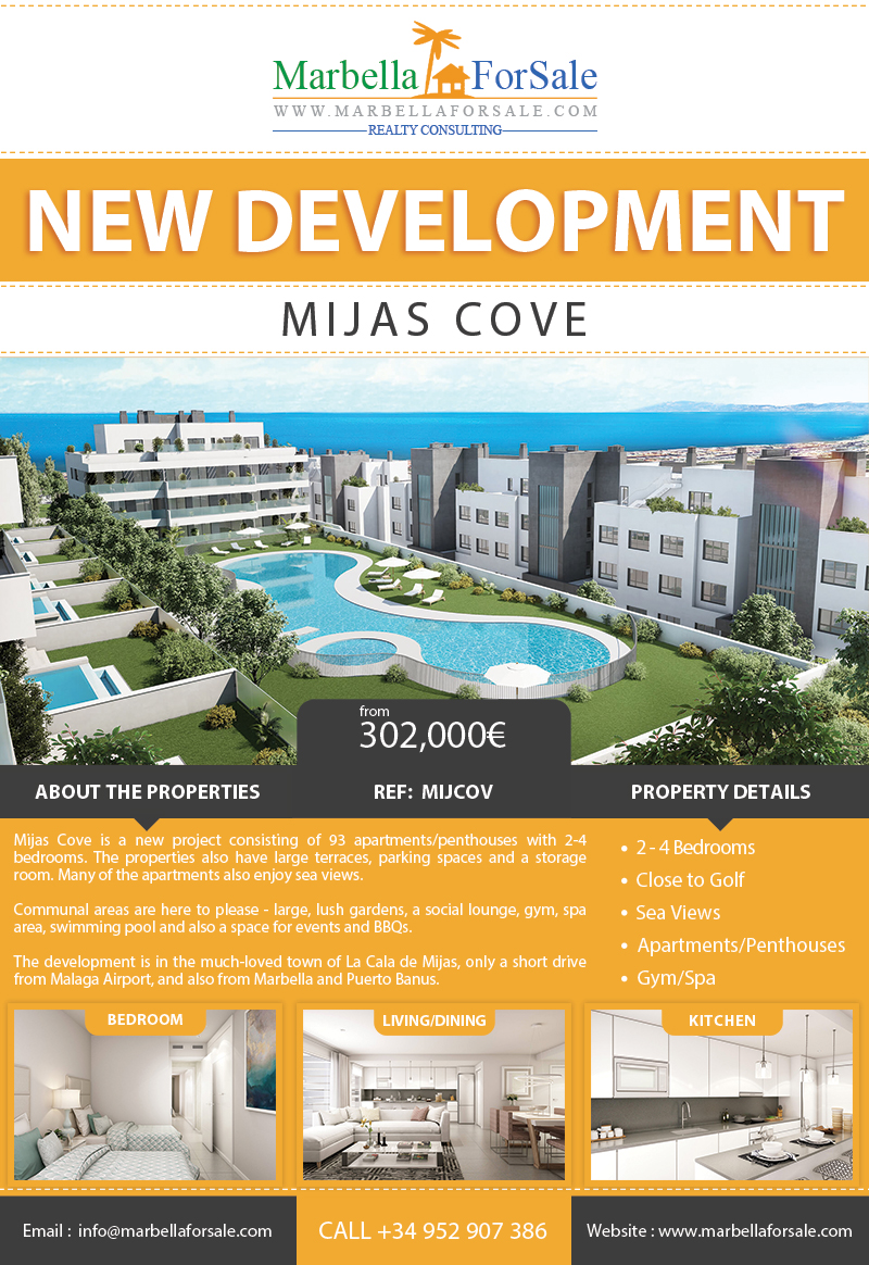 New Luxury Apartments For Sale - La Cala de Mijas