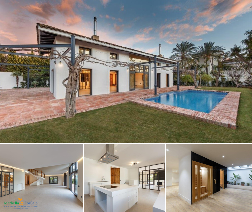 Fantastic 6 Bedroom Villa For Sale - Guadalmina