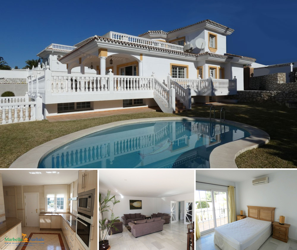 Beautiful 4 Bedroom Villa For Sale - Benalmádena
