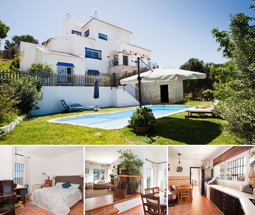 Lovely 4 Bedroom Villa For Sale - Mijas
