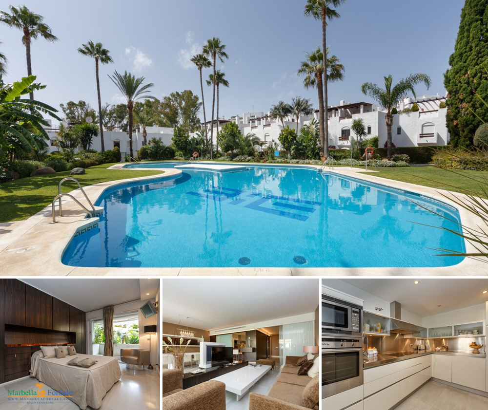 Luxurious 3 Bed Apartment For Sale - Puerto Banús