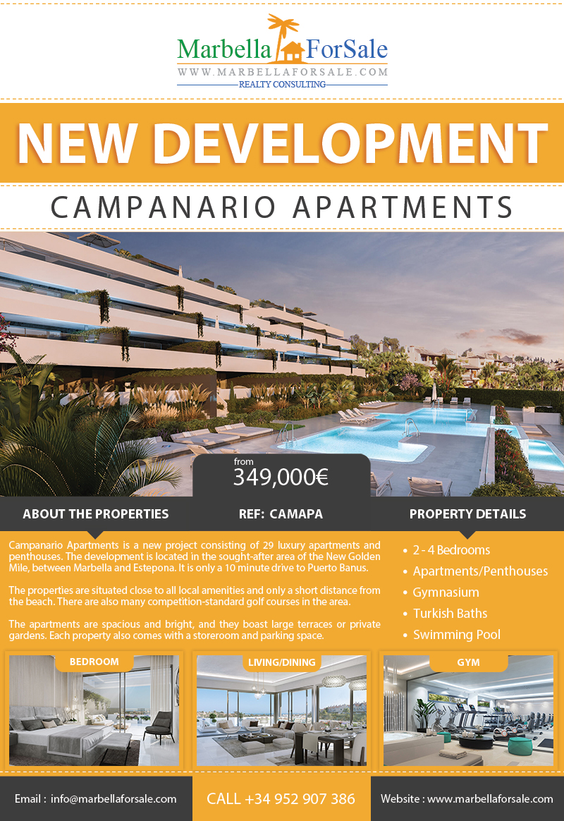 New Apartments For Sale - New Golden Mile