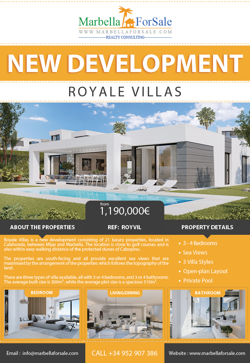 New Luxury Villas For Sale - Calahonda