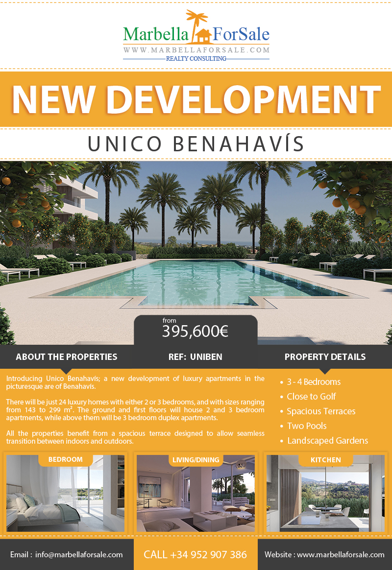 New Luxury Apartments For Sale - Benahavís