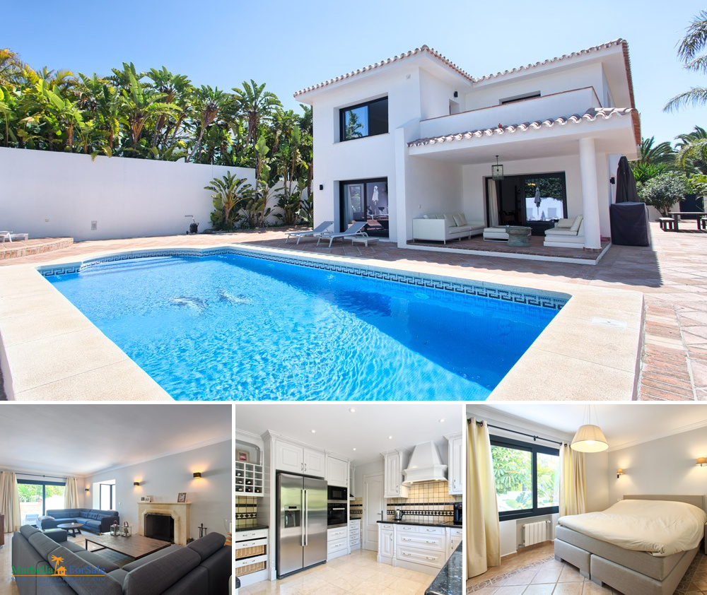 Renovated 4 Bed Villa For Sale - Los Monteros