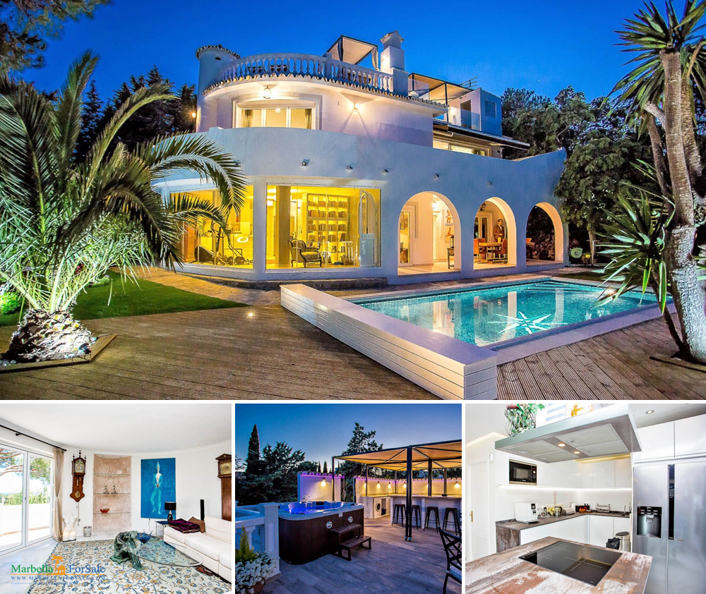 Beautiful 4 Bed Villa For Sale - Calahonda