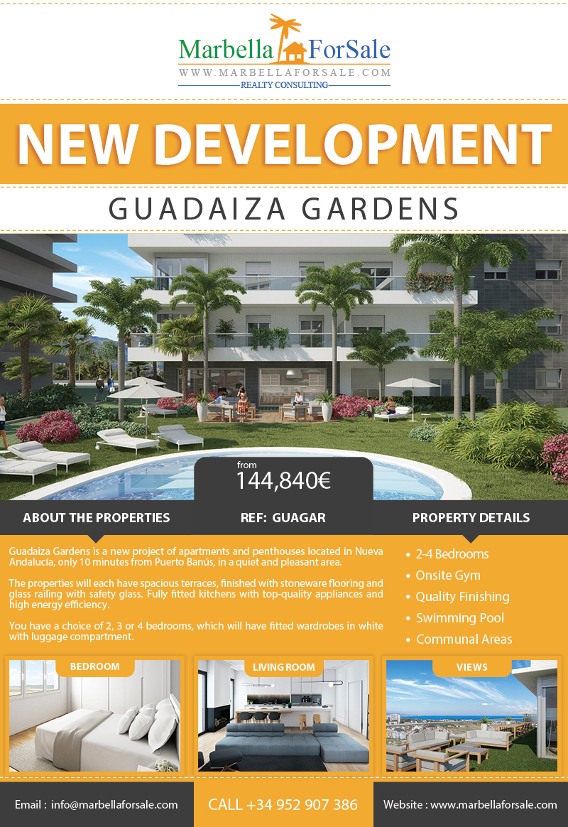 New Apartments For Sale - Nueva Andalucía