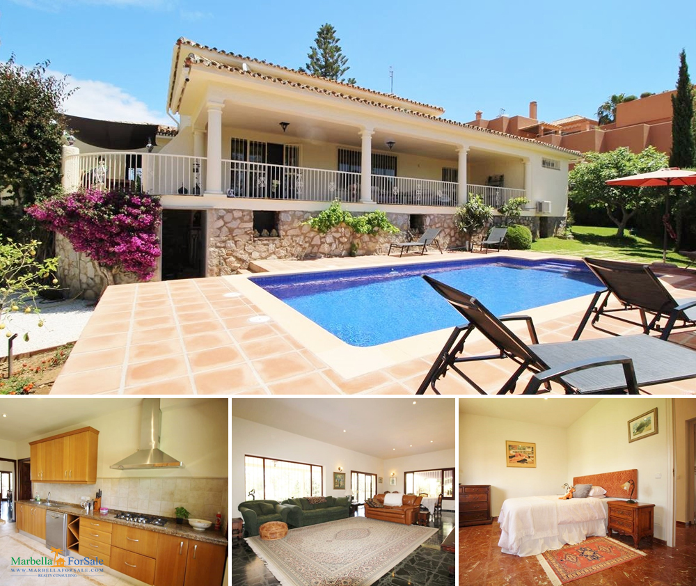 Nice 3 Bed Villa For Sale in Cabopino
