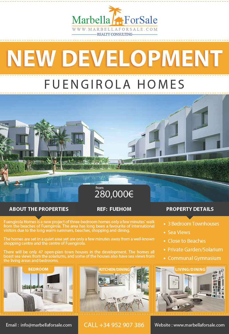New Townhouses For Sale - Fuengirola