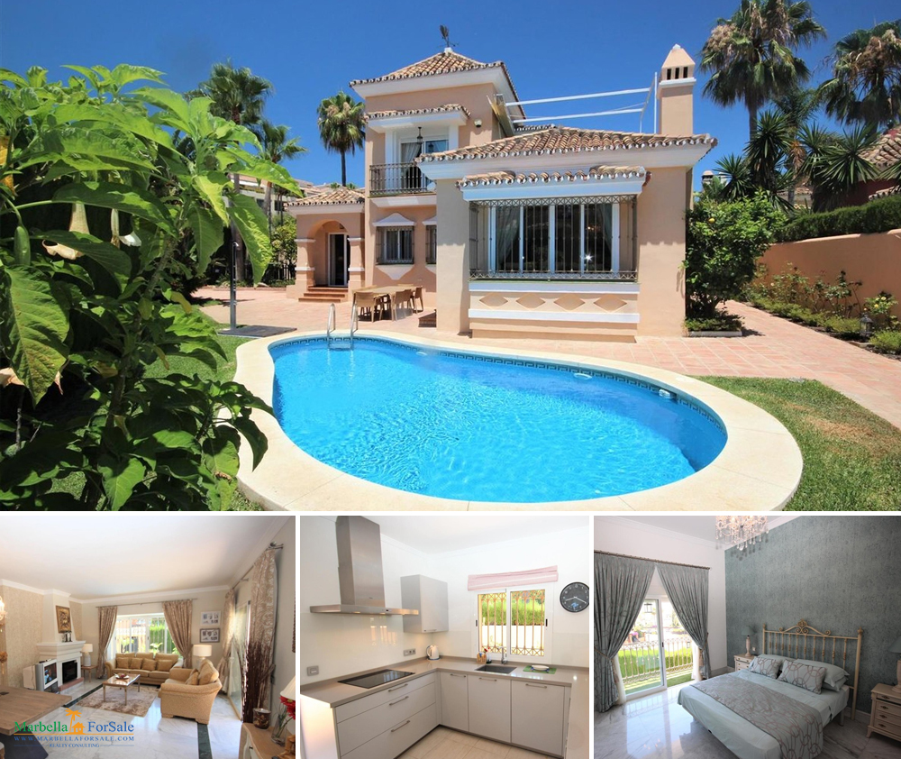 Beautiful 3 Bed Villa For Sale - Bahía de Marbella