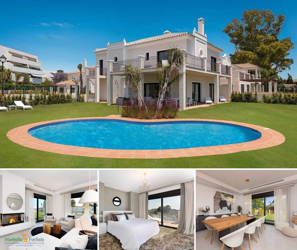 Stunning 5 Bed Villa For Sale - Guadalmina Baja