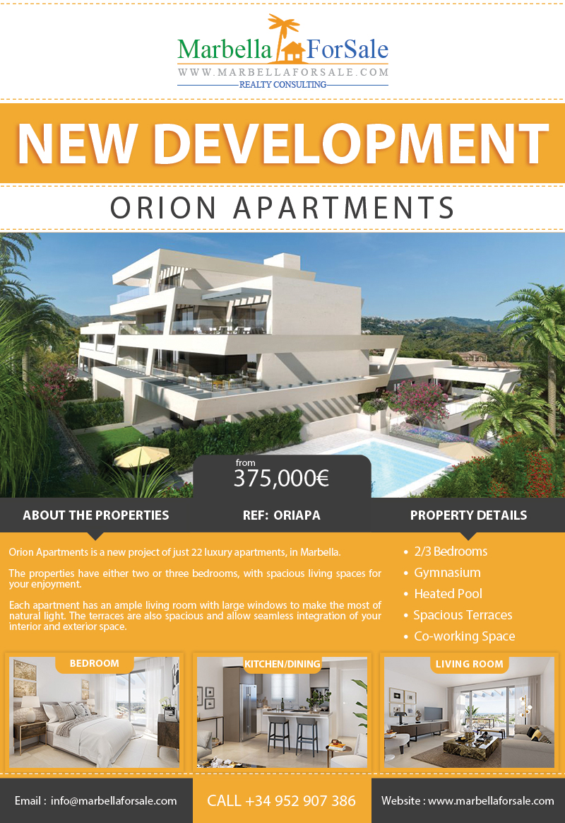 New Apartments For Sale in Marbella