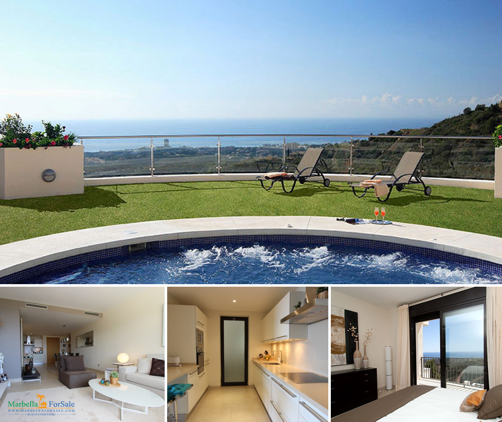 Modern 2 Bedroom Apartment For Sale - Los Monteros