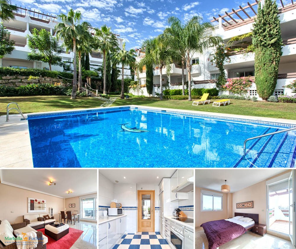Spacious 2 Bed Penthouse For Sale in Estepona