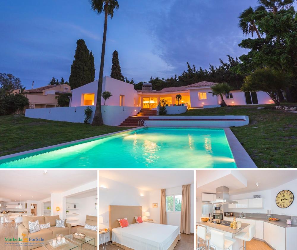 Stunning 4 Bed Villa For Sale - Estepona