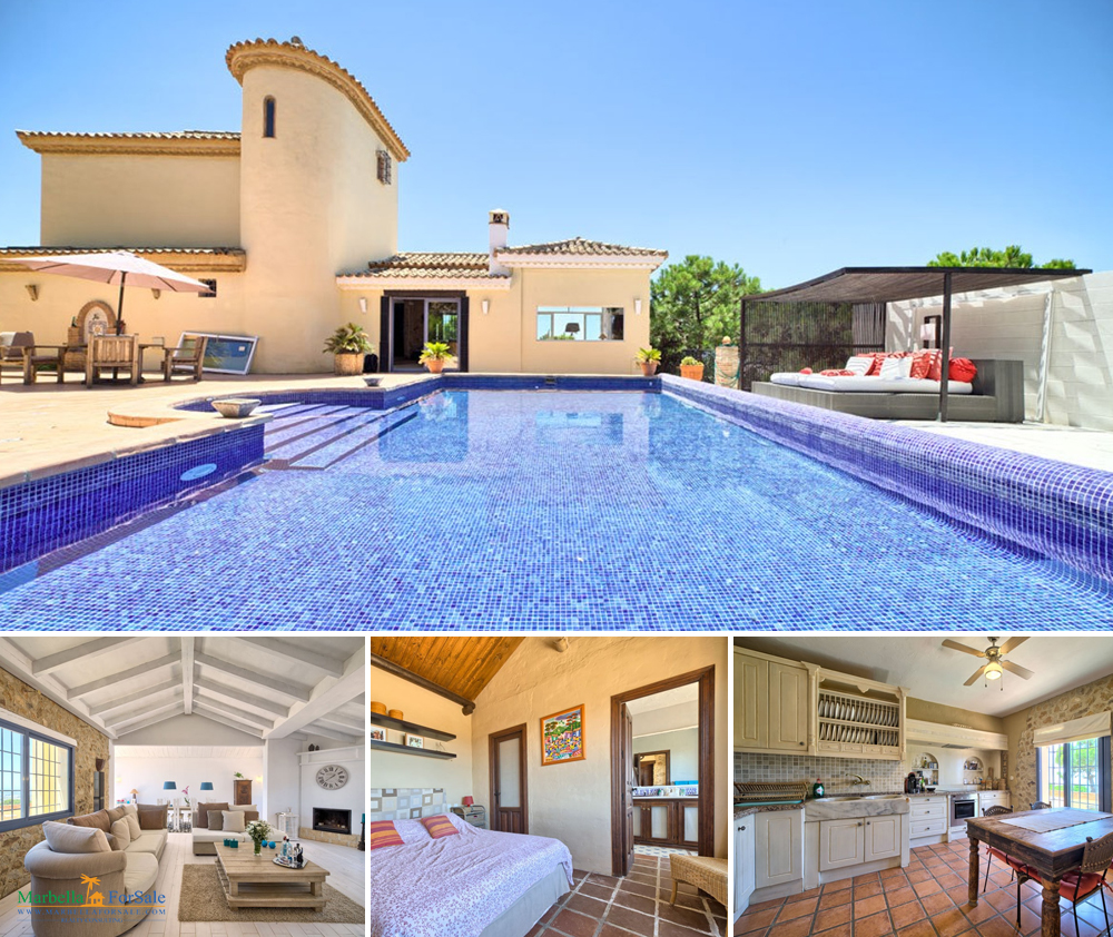 Large 3 Bed Villa For Sale in Estepona