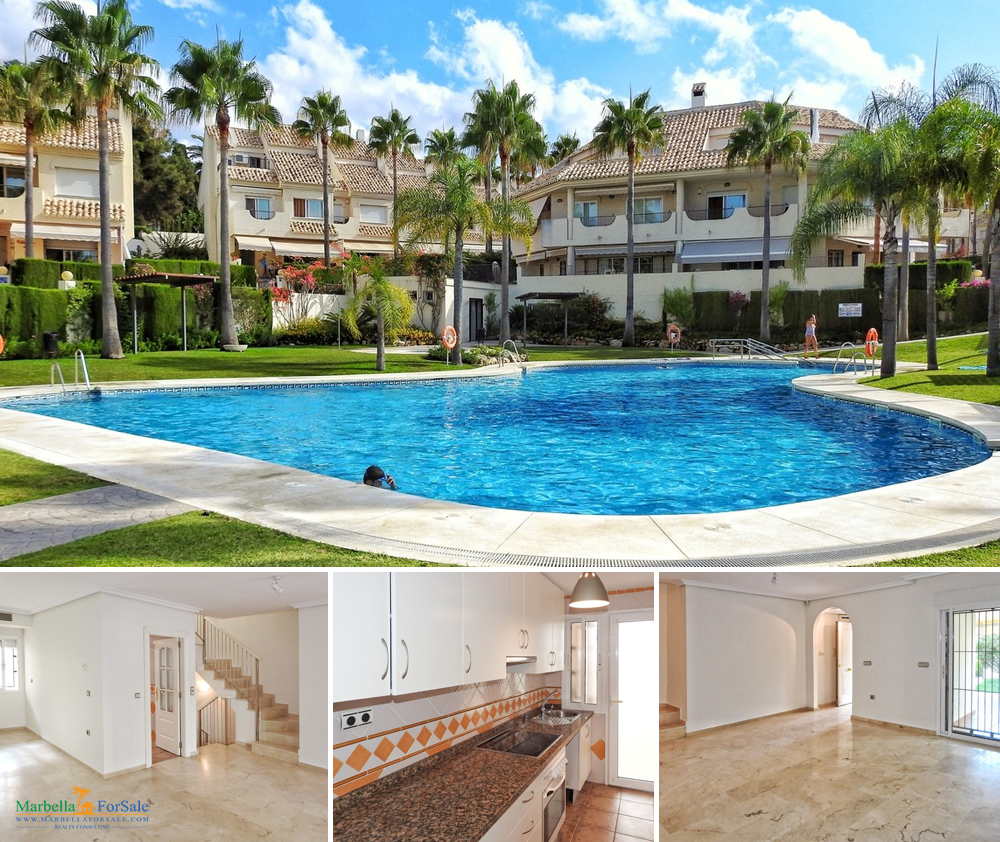 Lovely 4 Bedroom Townhouse For Sale - Elviria