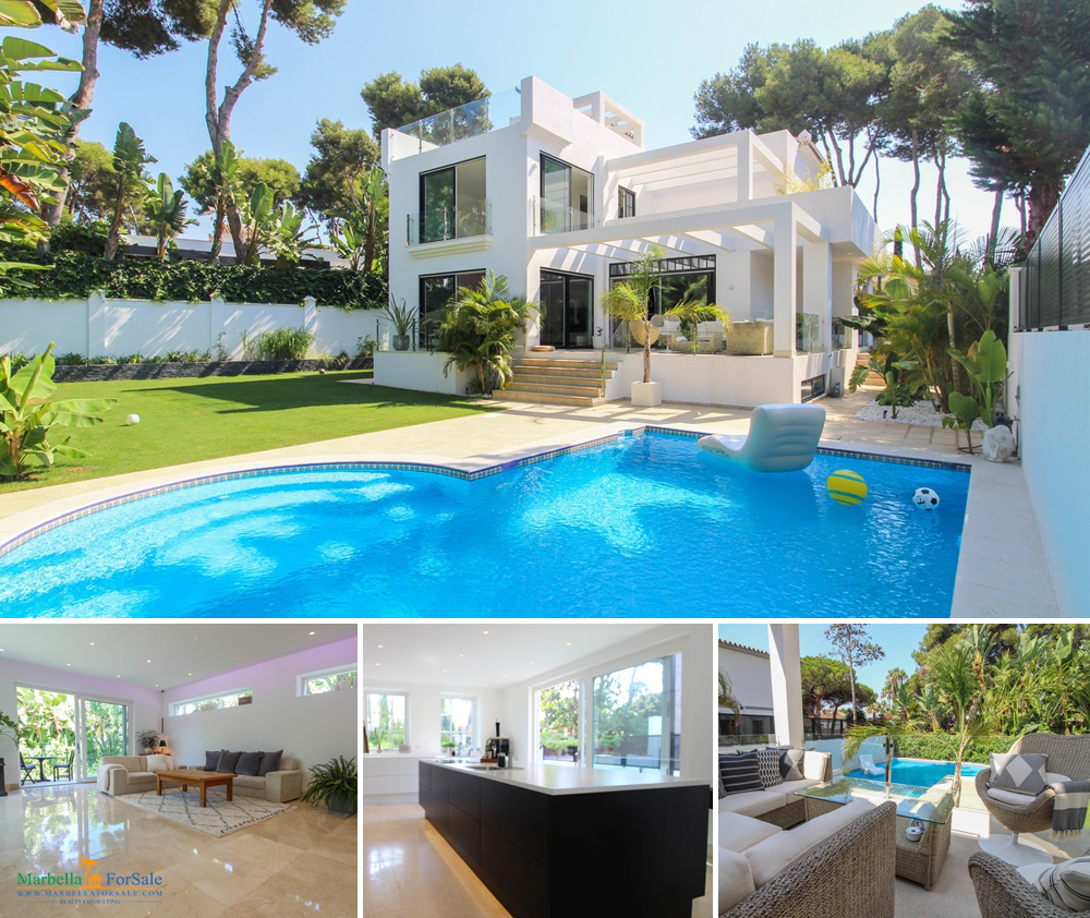 Gorgeous Villa For Sale in Los Monteros