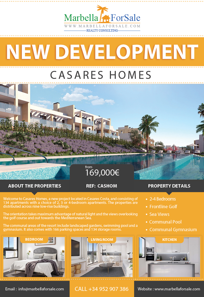 New Apartments For Sale - Casares Costa