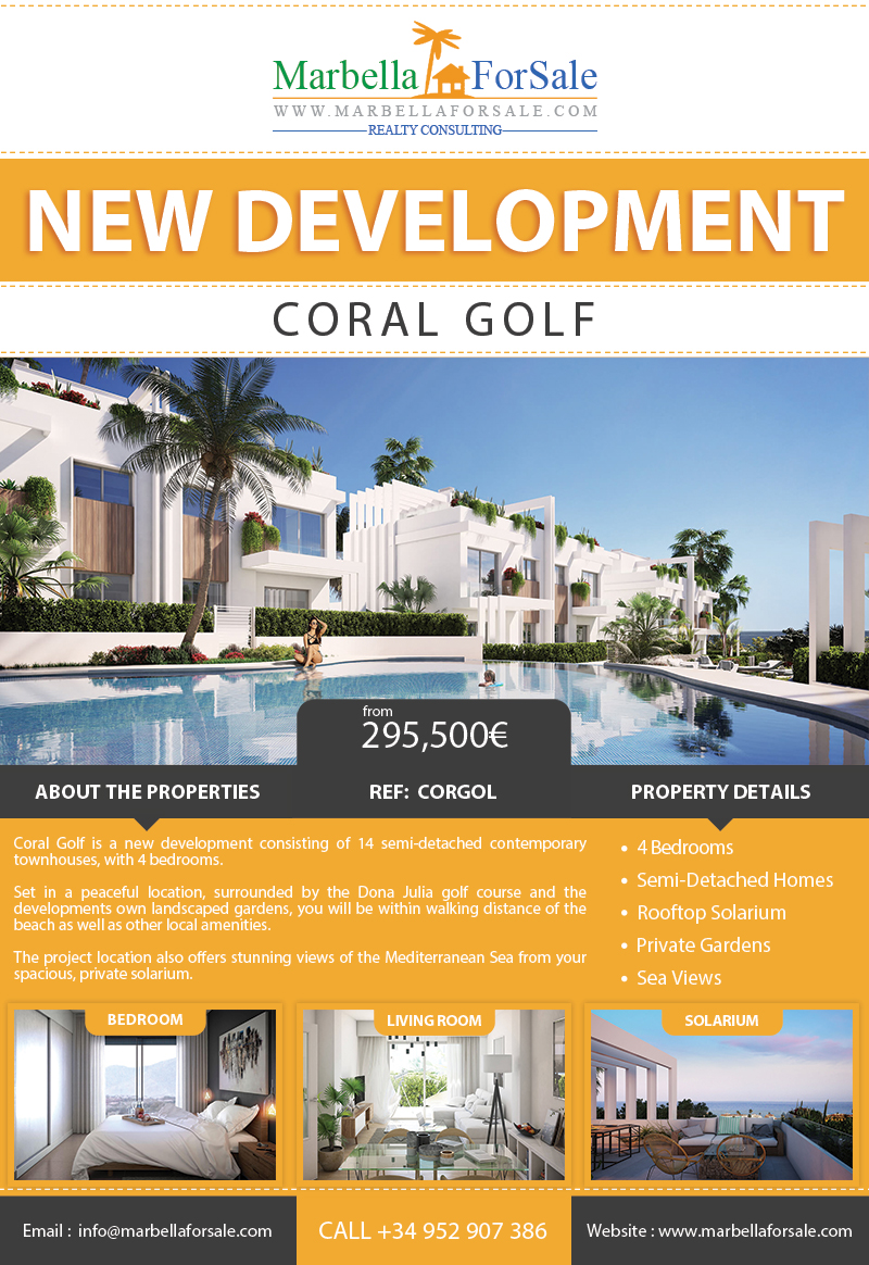 New Townhouses For Sale - Casares Costa