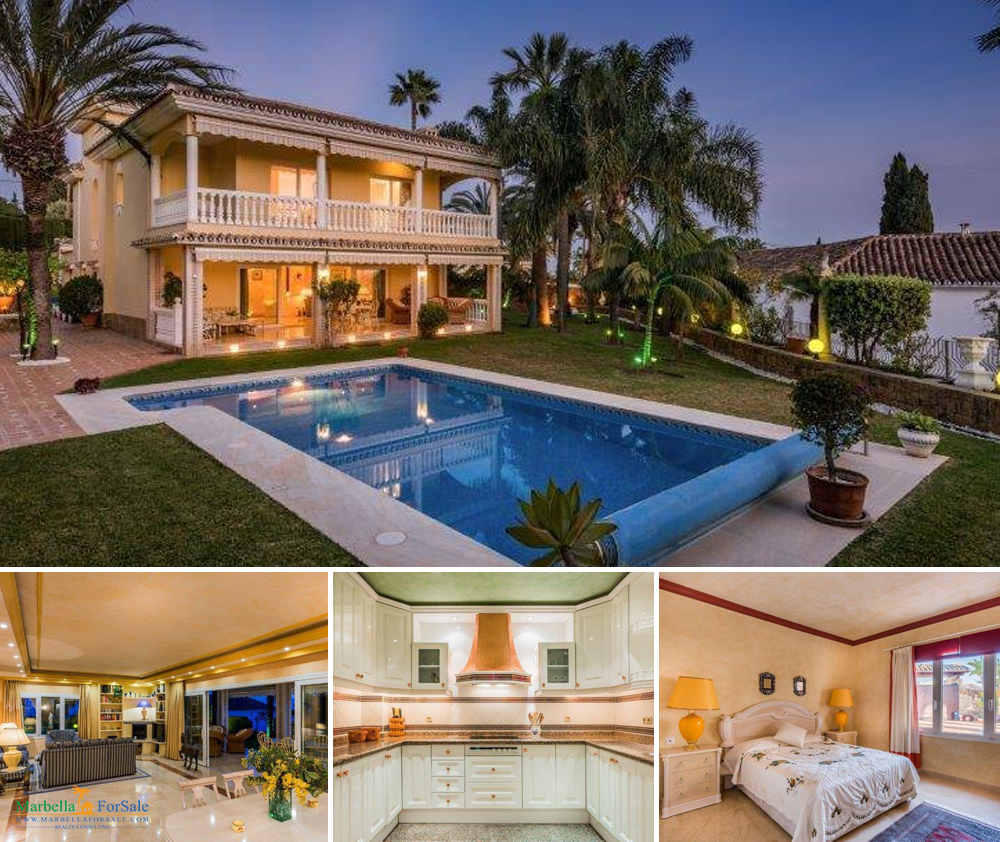 Beautiful 5 Bed Villa For Sale - El Rosario