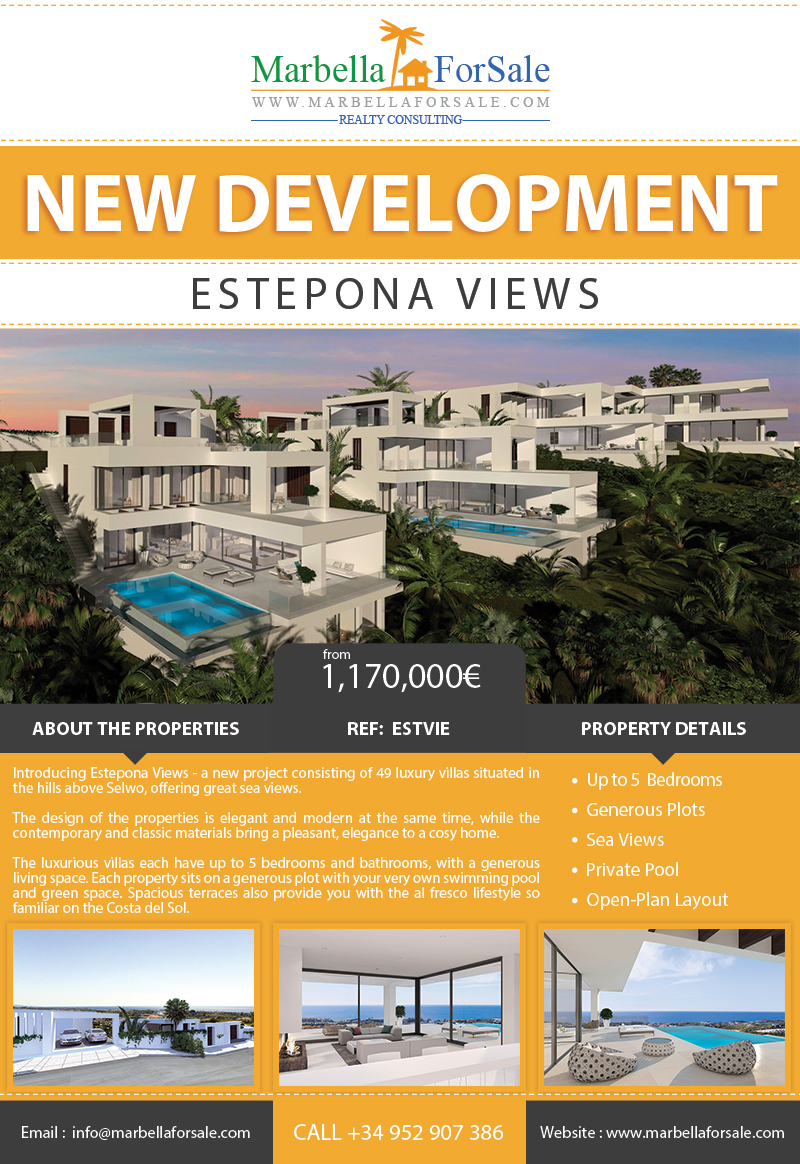 New Luxury Villa Project in Estepona