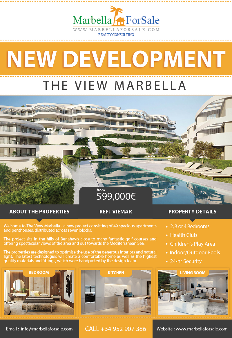 The View - New Luxury Apartments in Benahavís