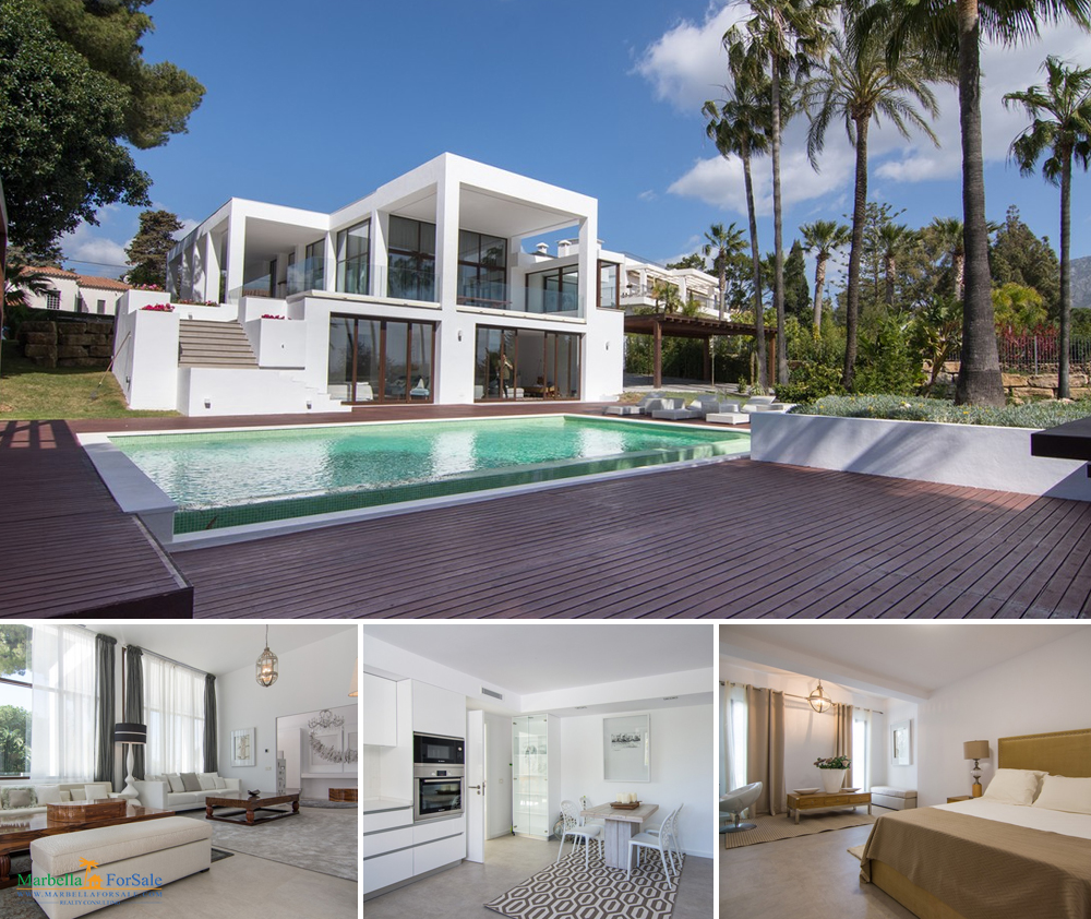 Stunning 6 Bed Villa For Sale - Marbella