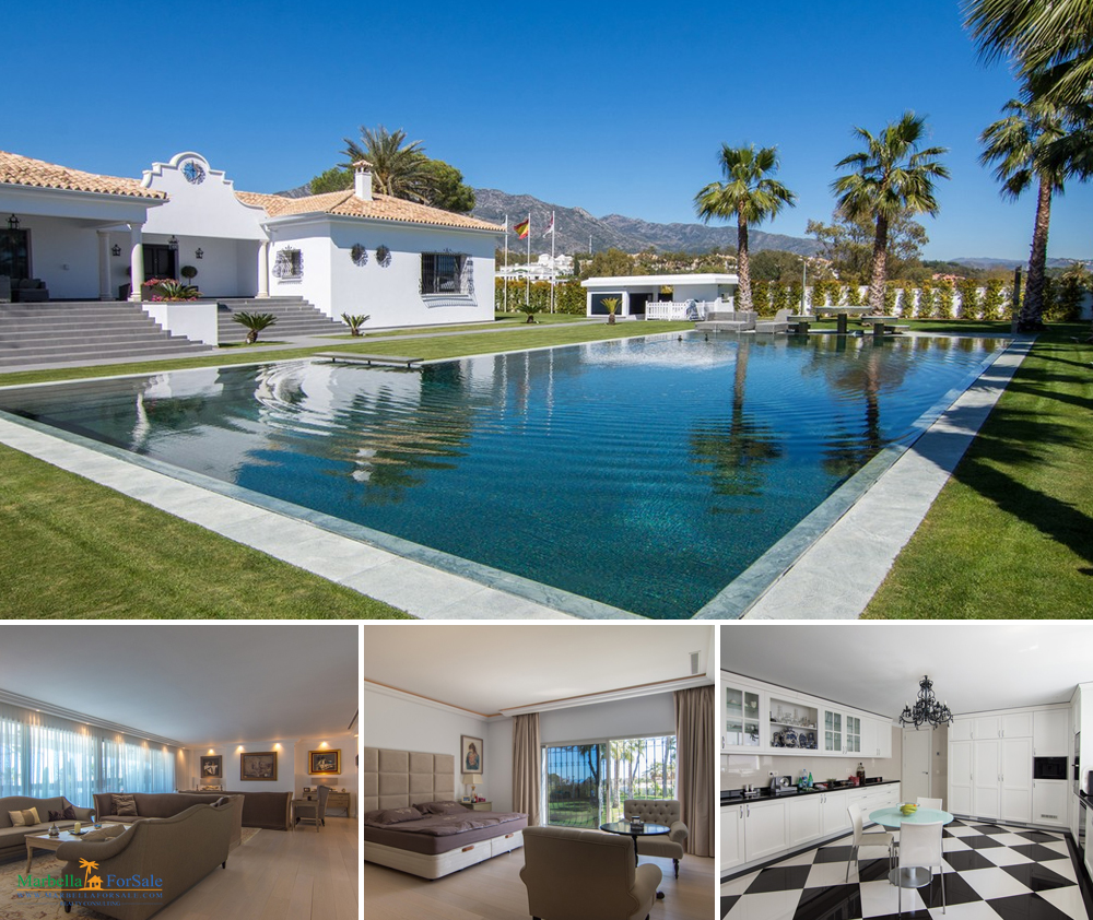 Luxurious 7 Bed Villa For Sale - Marbella