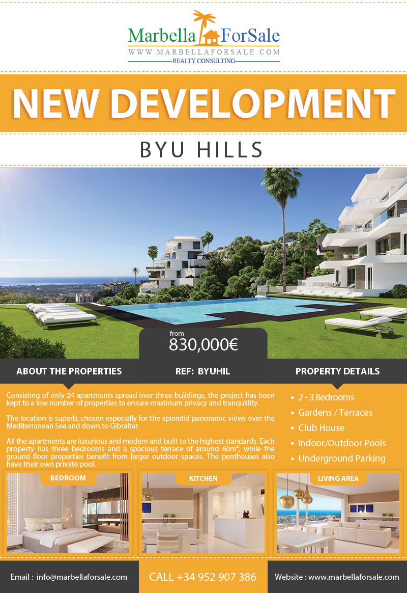 24 New Luxury Apartments For Sale - Benahavís