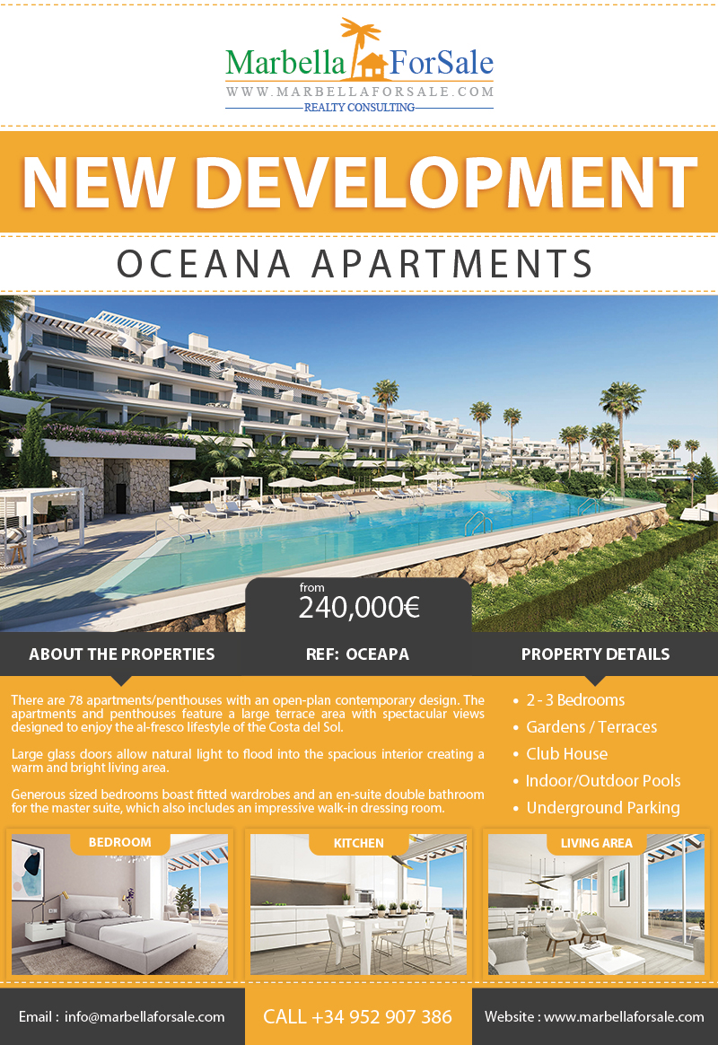 Oceana Apartments - New Homes For Sale in Estepona