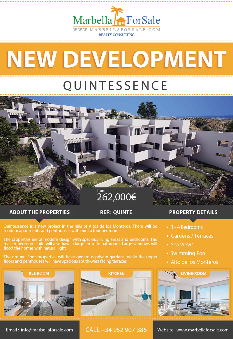 New Aparments For Sale in Altos de los Monteros
