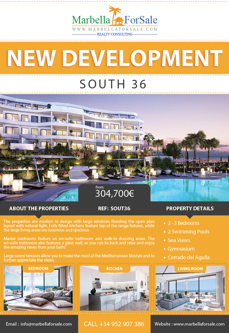 South 36 - New Homes For Sale in Mijas