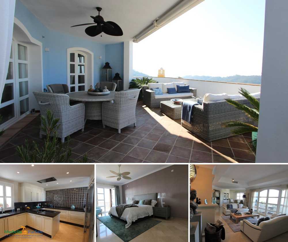 Spacious 3 Bed Townhouse For Sale - Benahavís