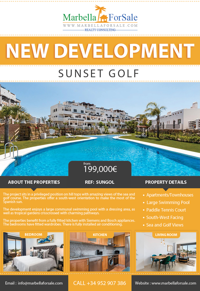 New Apartments, Penthouses and Townhouses - Estepona