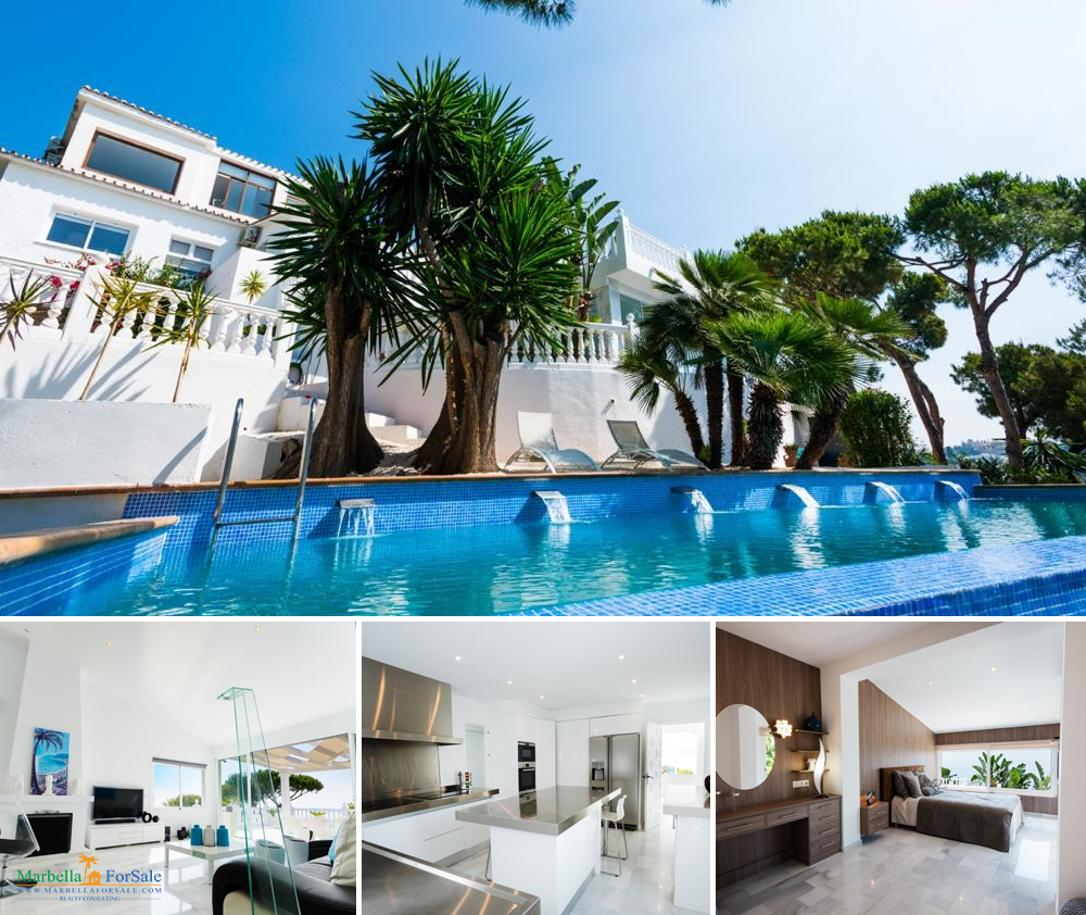 Luxury 8 Bed Villa For Sale in Benalmadena