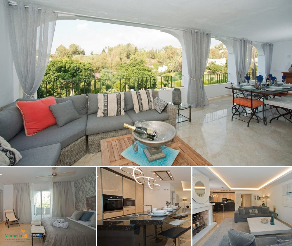Large 3 Bed Apartment For Sale in Benahavís