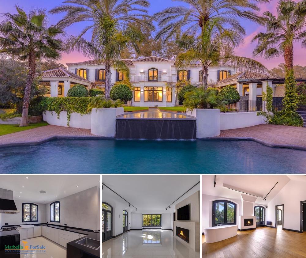 Modern 6 Bedroom Villa For Sale in Guadalmina