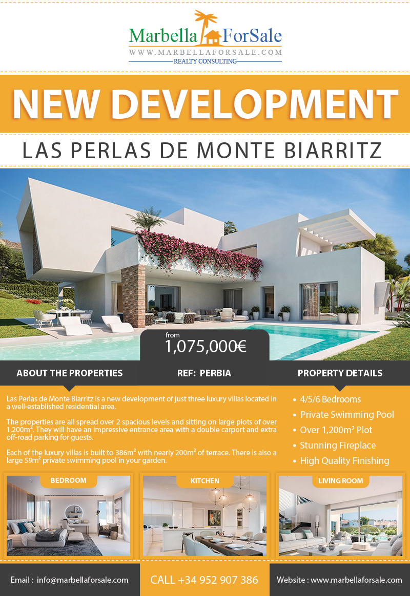 3 New Luxury Villas For Sale - Atalaya