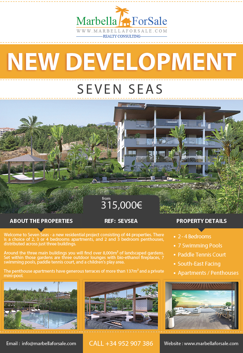 44 New Apartments For Sale in Las Lagunas de Mijas