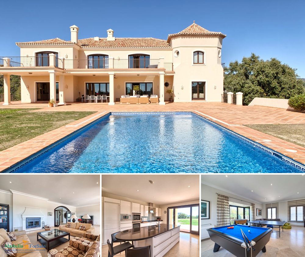 Stylish 7 Bed Villa For Sale in Benahavís