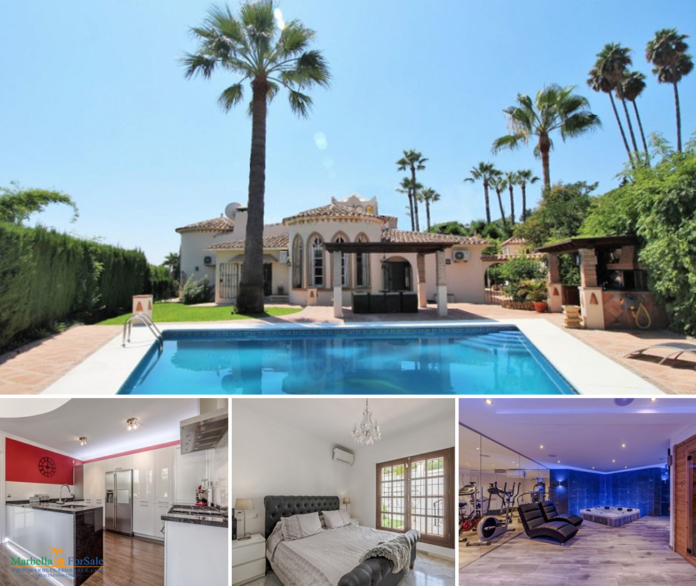 Nueva Andalucía - Lovely 4 Bed Villa For Sale