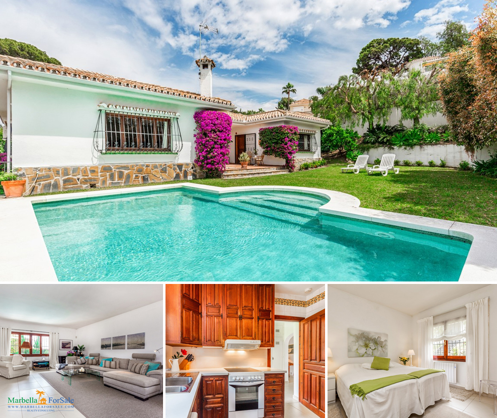 Beautiful 4 Bed Villa For Sale - Guadalmina