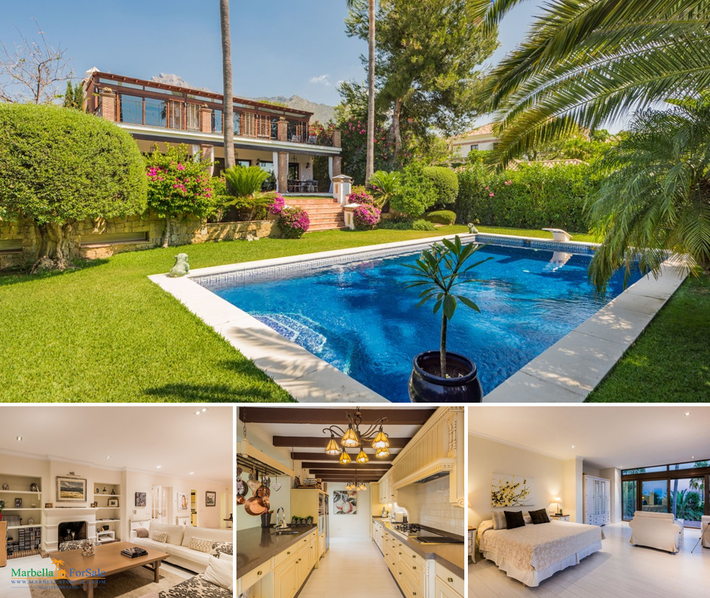 Charming 5 Bed Villa For Sale in Sierra Blanca