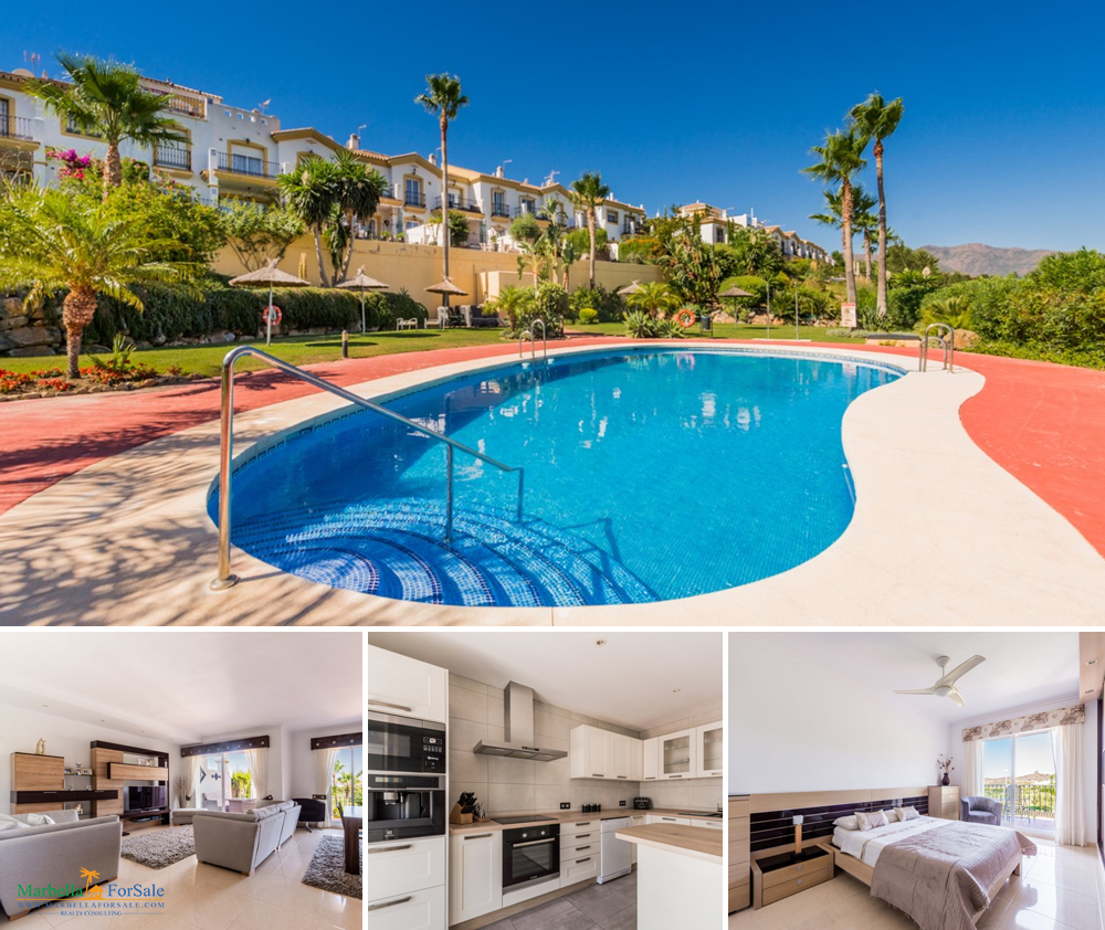 Lovely 3 Bed Townhouse For Sale - Alhaurin Golf