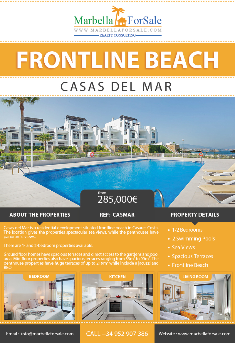 Beachfront Properties For Sale in Casares