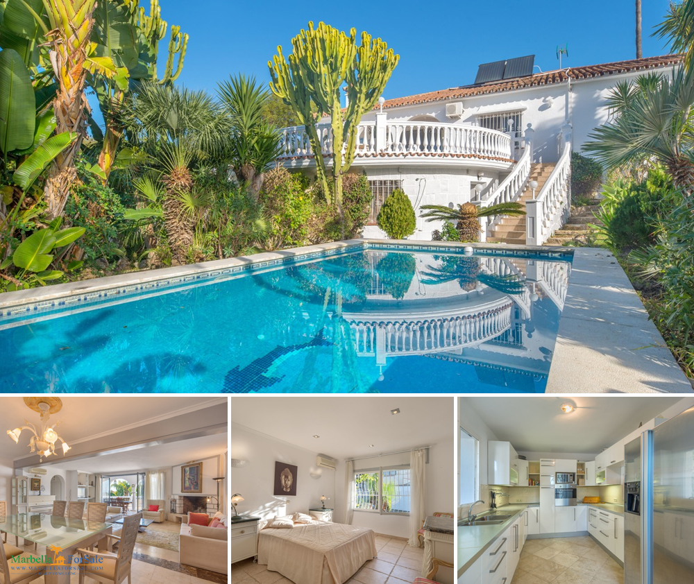 Beautiful 6 Bed Villa For Sale - Marbella