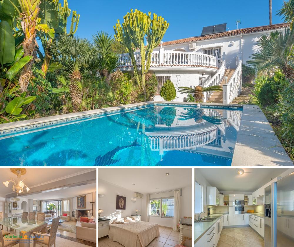Beautiful 6 Bed Villa For Sale - Marbella