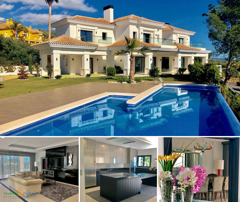 Brand New 5 Bed Villa For Sale - Sierra Blanca